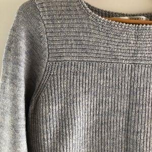 Max Studio // Diagonal High-low Sweater / Size L